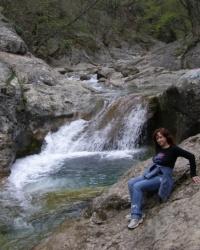 Ванна молодости - Кара-голь (Черное озеро)