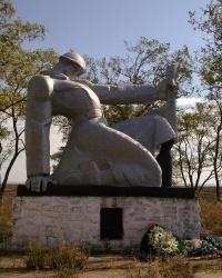 Памятник Великой Отечественной Войне возле с. Куликовское