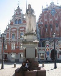 Ратушная площадь Риги