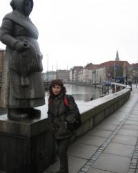 """Памятник """"Торговка рыбой"""" в Копенгагене"""