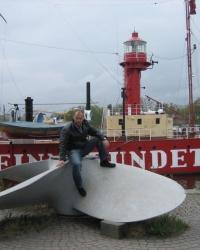 """Стокгольм. Плавучий маяк """" Finngrundet""""."""