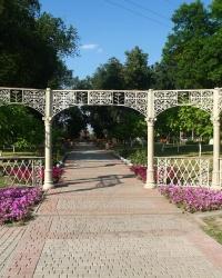 Парк Центральний, с. Золочів