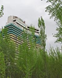"""Готель """"Парус"""" (негласний символ Дніпропетровська)"""