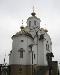Храм святых равноапостольных Константина и Елены в Оленовке.
