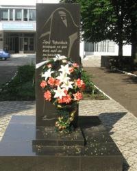 """Памятник """"чернобыльцам"""" в Волновахе"""