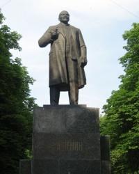 Памятник Ленину в Волновахе