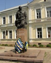 Пам'ятник і пам'ятна дошка Степанові Бандері в Стрию
