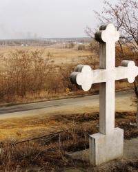 Пам'ятний хрест козакам Київського полку