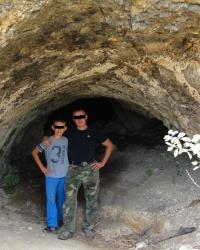 Біштель-Коба – печера з «димарем»