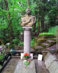 Могила Максима Богдановича в г. Ялта