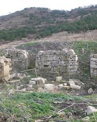 Остатки армянского монастыря Иоанна Крестителя (пгт.Орджоникидзе)