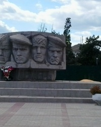 Памятник Керченско-феодосийским десантникам в Коктебеле