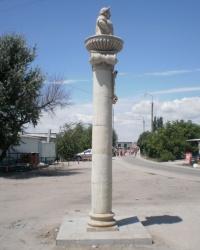 Памятник Лизке. Бердянск