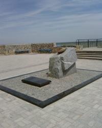 Памятный знак о высадке десанта в Бердянске