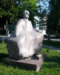 Пам'ятник Густаву Олізару в Коростишеві