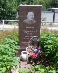 Пам'ятник «королю ланцюгів» Федору Гурському біля Запоріжжя