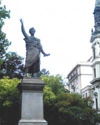 Памятник Шандору Петефі у Будапешті