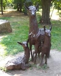 Скульптура «Олени» в Днепре