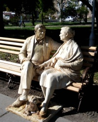 Пам'ятник батькам у Запоріжжі