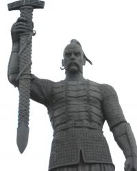 Памятник Святославу Игоревичу в Запорожье