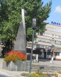 Памятник погибшим авиамоторостроителям