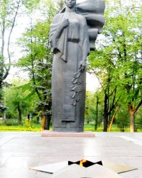 Мемориал «Скорбящая мать в Запорожье
