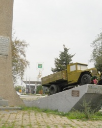 Памятник воинам-автомобилистам в Запорожье