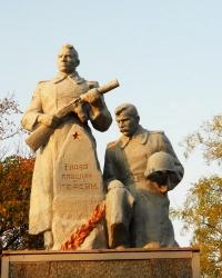 Памятник воинам в Геническе