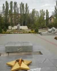 Мемориал Братское кладбище в Мелитополе