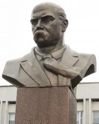 Пам'ятникТарасу Шевченко у Нікополі