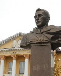 Памятник В.М. Усову в Никополе