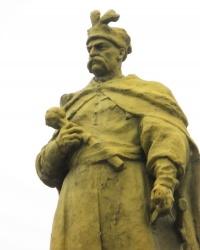Памятник Б. Хмельницкому в Никополе