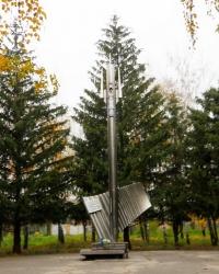 Памятник воинам 206 стрелковой дивизии в Никополе
