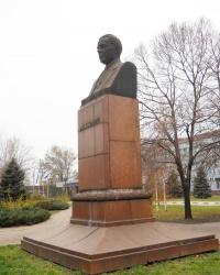 Памятник Кузьмину А.Н. в Запорожье
