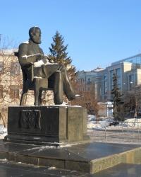 Памятник А. Бутлерову в Казани