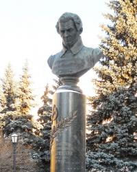Памятник Лобачевскому в Казани