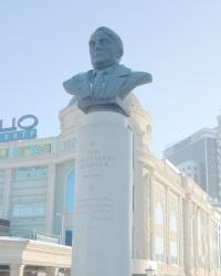Памятник Льву Гумилеву в Казани
