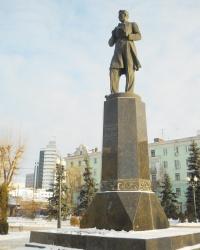 Памятник поэту Габдулле Тукаю. Казань.