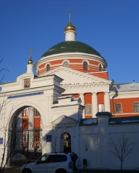 Казанская икона Богородицы и Крестовоздвиженский храм