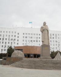 Памятник Султану Бейбарсу в Атырау