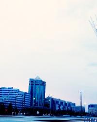 Монумент Байтерек  - главный символ Астаны, столицы Казахстана