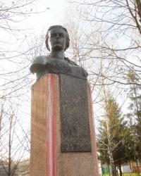 Памятник Л. Украинке в с. Косовщина