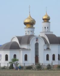 Храм Николая Чудотворца в Николаевке Симферопольского района