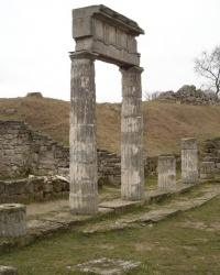 Гора Митридат в Керчи. Античный город Пантикапей
