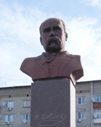 Пам'ятник Тарасу Шевченку у Михайлівці.