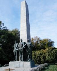 Воинский мемориал в Михайловке