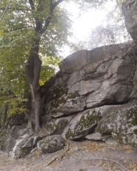 Думная скала на Хортице