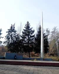 Памятник юным чапаевцам в Запорожье