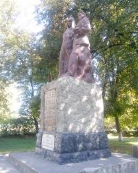 Братська могила борців за радянську владу в Лебедині