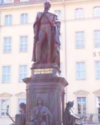 Пам'ятник Фрідріху Августу ІІ у Дрездені
